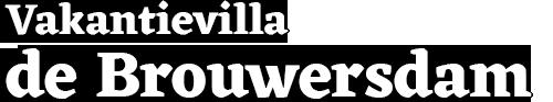 Vakantievilla de Brouwersdam Logo